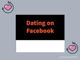dating in facebook